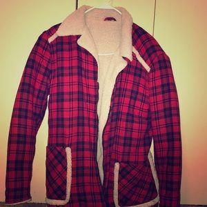 Jackets & Blazers - FLANNEL JACKET
